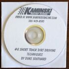 Short Track Dirt Driving Techniques by D. Southard