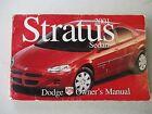 DODGE STRATUS Owners Manual  2001
