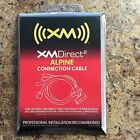 BRAND NEW Audiovox XMDirect2 Direct 2 ALPINE Connection Cable XM READY CNPALP1