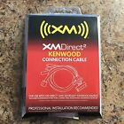 BRAND NEW Audiovox XMDirect2 Direct 2 KENWOOD Connection Cable XM READY CNPKEN1