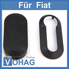 FIAT Car key Cradle Black for Punto 500 Plastic Protective Case Cover NEW