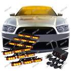 54 Amber/Yellow LED Car Truck Emergency Flashing Warning Flash Strobe Light C99