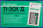 SEALED The Educator TI-30X II Calculator for Overhead Projectors w/ case & pouch