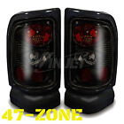 For 1994-2001 Dodge Ram Altezza Style Black Housing Smoke Lens Tail Lights Lamps