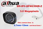 dahua DH-IPC-HFW2300R-Z 3MP HD POE IR IP CCTV 2.7~12mm vari-focal Bullet Camera
