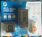 New Wireless Weather Combo Pack Forecast Station with In/Out Temperature
