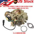 CARBURETOR TYPE CARTER YFA 1 BARREL ELECTRIC For FORD 4.9L 300 cu/3.3 L 200 cu
