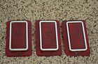 GM 64 CHEVROLET STATION WAGON TAILLIGHT LENS GUIDE 1A CHEVY IMPALA