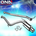 "FOR 03-06 HONDA ACCORD CM7/CM8 L4 4""ROLLED TIP STAINLESS EXHAUST CATBACK SYSTEM"