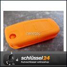 Key Silicone Case cover orange Ford Remote control Flip key