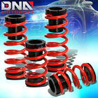 """FOR 93-97 FORD PROBE/MX-6 1-3""""SCALED SUSPENSION LOWERING COILOVER RED SPRINGS"""