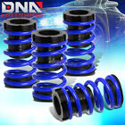 """FOR 01-05 CIVIC EM2 ES 1-3""""SCALED SUSPENSION LOWERING COILOVER BLUE COIL SPRINGS"""