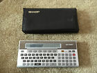 Sharp PC 1500 with case - vintage calculator