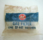 Vintage NOS AC Delco Chevy GM GF441 GF 441 5650906 Fuel Filter