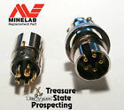 5 Pin Cable Repair ✪ gold plated connector for ✪ Minelab ✪ GPX 5000 4500 4800