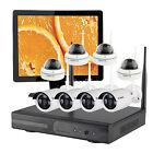 Interior al aire libre CCTV sistema de cámara de vigilancia disco duro y monitor