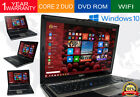 Dell Laptop Latitude Windows 10 Core 2 Duo 2GB Ram DVD WIFI Computer Win 10 HD