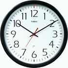 Timex Set & Forget Office Wall Clock,No 46004T,  Chaney Instrument Co 3Pk
