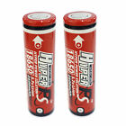 2 pcs 18650 2600mAh 3.7V Li-ion Rechargeable Battery Flat Top HyperPS US Stock
