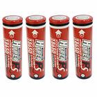 4 pcs 18650 2600mAh 3.7V Li-ion Rechargeable Battery Flat Top HyperPS US Stock
