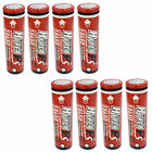 8 pcs 18650 2600mAh 3.7V Li-ion Rechargeable Battery Flat Top HyperPS US Stock