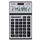Casio JS-120TVS-SR Heavy Duty Desk Calculator JS120TVS Silver