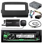 KDR97MBS Bluetooth CD Radio,Harley 2014-UP Batwing DIN Install Kit,Antenna,Tuner