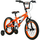 "16"" Mongoose Mutant Boys Bike Steel Frame Kids Trike Bicycle Training Wheels New"