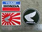 3 HONDA patch CT70 Z50 GOLDWING MONKEY C70 DAX ST70 CZ JDM CB 100 SS K 0 1 2 3 J