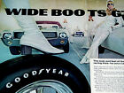 1969 AMC AMX/GOODYEAR WIDE BOOTS GT SEXY VINTAGE AD-print/poster/photo/sign/1968