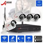 ANRAN 4CH 1.3MP HD Wireless IP Network Home Security Camera System 960P CCTV NVR