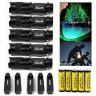 5Sets Tactical Police 15000LM LED Flashlight Torch + 14500 Battery&Charger USA