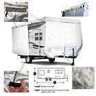 ShieldAll™ UHaul CT-13 travel trailer Camper Cover w/Zipper Door Access