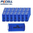 50X 16340 Rechargeable Battery CR123A Li-ion 3.7V 700mAh Real Capacity Batteries