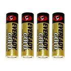 Eveready 02889 - AA Cell 1.5 volt Gold Alkaline Battery  (A91BP-4)