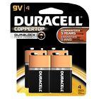 Duracell Coppertop 9-V Alkaline Batteries 4 Count