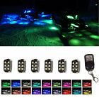 6pc 2017 LED Neon UnderGlow Lights Pods Kit Polaris Assault RMK800 Snowmobile
