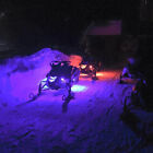 14PC 84 LED BRIGHT SNOWMOBILE UNDERGLOW NEON PODS LIGHT KIT w KEYCHAIN REMOTE
