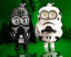 Star Wars Minion Darth Vader Storm Trooper LED Theme Sound Keychain Key Ring