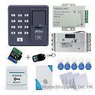 ZKTeco Fingerprint+RFID Card+Password Door Access Control Kit+ Mortise Lock TOP