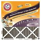 Air Filter 16x20x1in Max Odor, Pack 4, Part AFI-12P, Protect Plus Industries