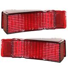 1968 68 Chevy Chevelle Tail Lamp Light Lenses Pair / Right & Left Side TL68AN