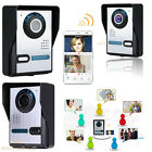 Smart Wireless WiFi Video Camera Door Phone HD 720P Doorbell Intercom Monitor