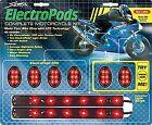 Street FX Complete Epod Light Kit - Chrome Casing w/ Yellow LED Lights