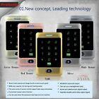 Metal Touch Keypad 125KHz RFID Card Door Access Control Keypad 8000 Users