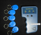 Portable 125KHz RFID Card Writer Copier Duplicator+ 5 Writable RFID Keyfobs