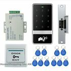 New Waterproof RFID Access Control System Kit+Door Strike Lock+Remote Control