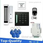 TOP RFID Card Door Access Control System+Magnetic Lock+Remote Control+RFID Card