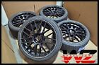 """Set of 20"""" Aftermarket Satin Black Wheels with Tires! Fits Mercedes S & CL Class"""