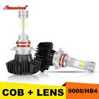 Pair 9006 HB4 CREE 1150W LED Headlight Kit Low Beam Bulbs HID Replace 12V 24V